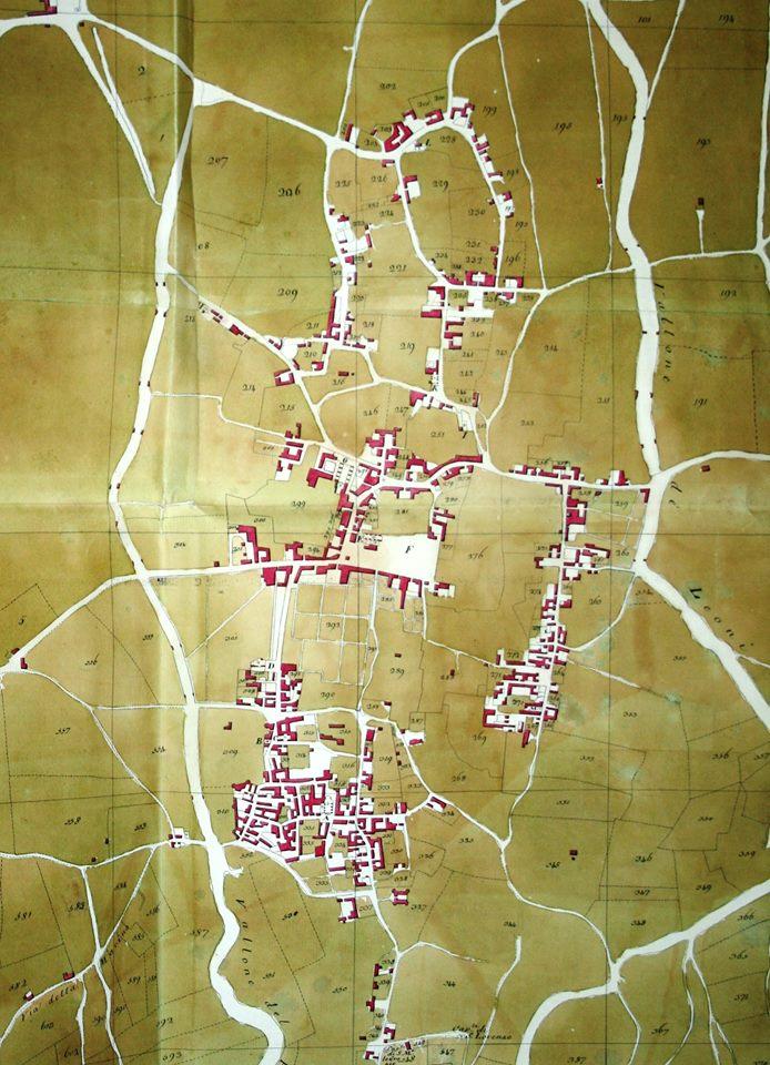 Pianta della Città di Somma (1799 - 1800) di Luigi Marchese