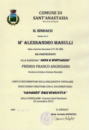 Premio Franco Angrisano